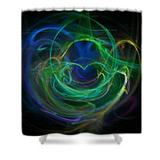 The Heart's Desire Shower Curtain