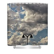 The Heavens Above Shower Curtain