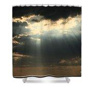 The Heavens Shower Curtain