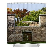 The Hermitage Shower Curtain