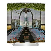 The High Way Shower Curtain