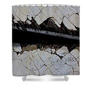 The Hills That Fossil Shower Curtain