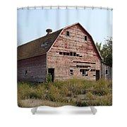 The Hole Barn Shower Curtain