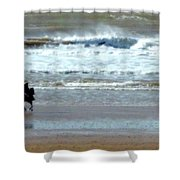 The Horse And The Sea Shower Curtain