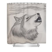 The Howler Shower Curtain