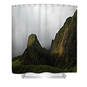 The Iao Needle Shower Curtain