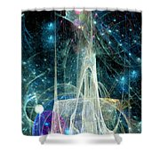 The Ice Castle 1 Shower Curtain