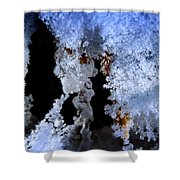 The Ice Cave Shower Curtain