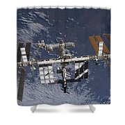 The International Space Station Shower Curtain