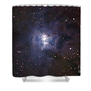 The Iris Nebula Shower Curtain