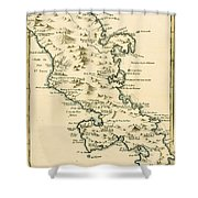 The Island Of Martinique Shower Curtain