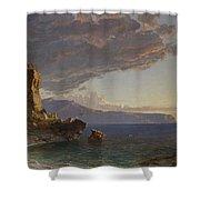 The Isle Of Capri Shower Curtain
