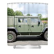 The Iveco Light Mulirole Vehicle Shower Curtain