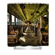 The Journey Ends Shower Curtain