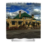 The Jubilee Inn Shower Curtain