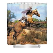The Jumper Shower Curtain