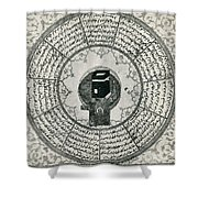 The Kaaba Shower Curtain
