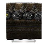 The Keg Room Version 3 Shower Curtain