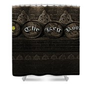 The Keg Room Version 4 Shower Curtain