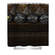 The Keg Room Version 6 Shower Curtain