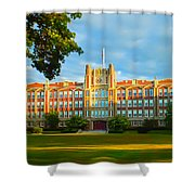 The Keys Of Knowledge Shower Curtain
