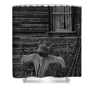 The Kind Lady Shower Curtain