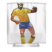 The King Pele Shower Curtain