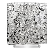 The Kingdom Of Ireland Shower Curtain
