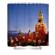 The Kremlin In Moscow Shower Curtain