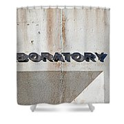 The Laboratory Shower Curtain