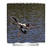 The Landing V2 Shower Curtain