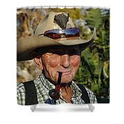 The Last Cowboy Of The West Shower Curtain