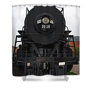 The Last Iron Horse Loc 1518 In Paducah Ky Shower Curtain