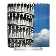 The Leaning Tower Of Pisa Italy Shower Curtain