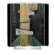 The Least Interesting Man In The World Shower Curtain