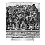 The Liberator Masthead Shower Curtain