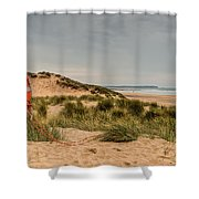 The Lifebelt Shower Curtain by Steve Purnell