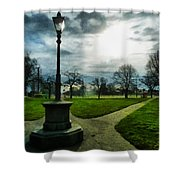 The Light Of A Winter's Day Shower Curtain