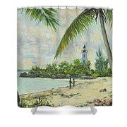 The Lighthouse - Zanzibar Shower Curtain