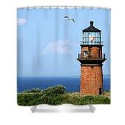 The Lighthouse On Martha's Vineyard Shower Curtain