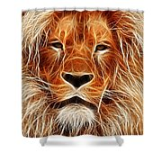 The Lion Sleeps Tonight Shower Curtain