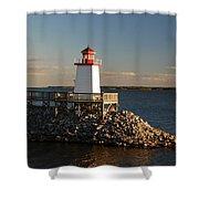 The Little Lighthouse Shower Curtain