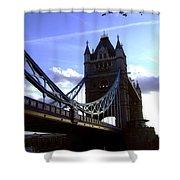 The London Tower Bridge Shower Curtain