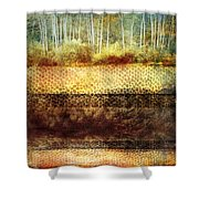 The Losses Reflected Shower Curtain