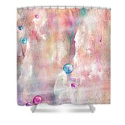 The Lost Marbles Shower Curtain