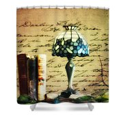 The Love Letter Shower Curtain