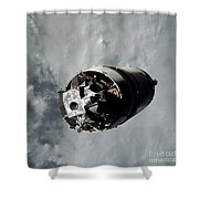 The Lunar Module Spider Of The Apollo 9 Shower Curtain