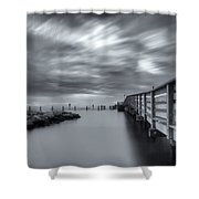 the magic of the Big Stopper Shower Curtain