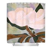 The Magnolia Shower Curtain