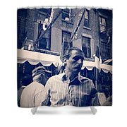 The Maitre D Shower Curtain